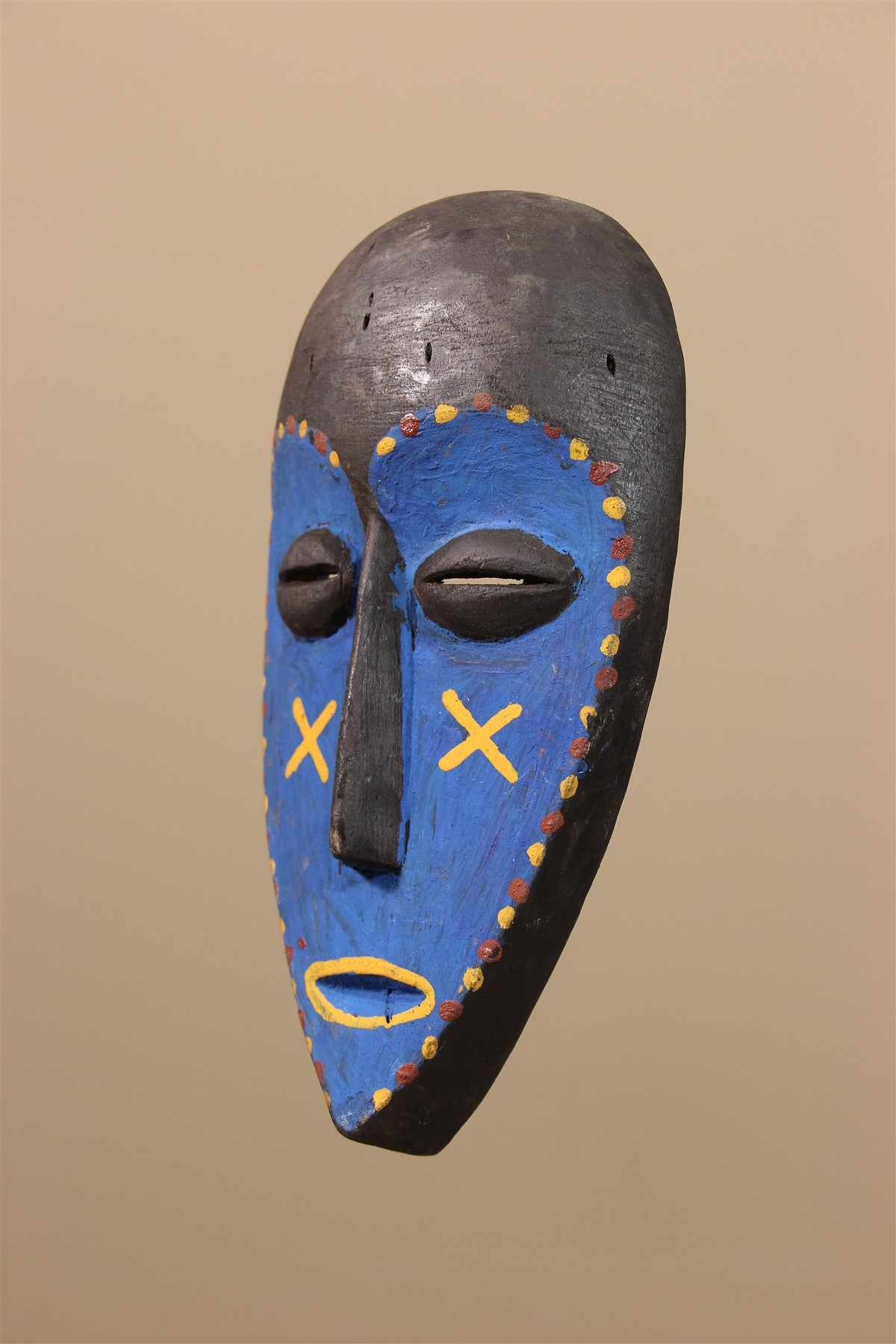 Petit masque Lega - Déco africaine - Art africain traditionnel