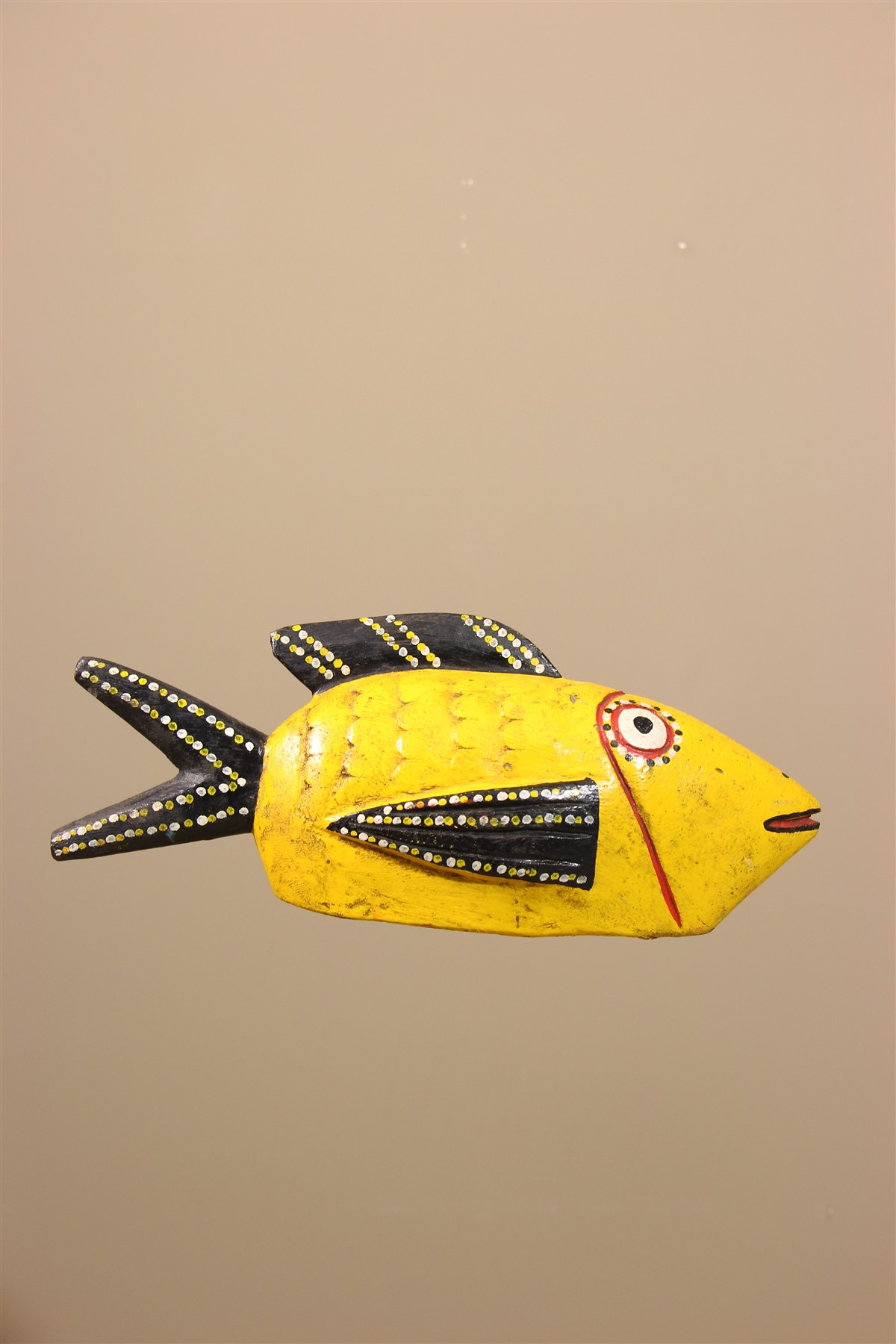 Poisson Bozo du Mali - Déco africaine - Art africain traditionnel