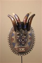 Masque africainMasque Baule, Baoulé, Kplé kplé