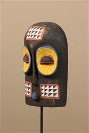 Masque africainPetit masque Kuba