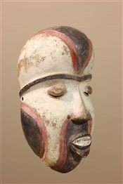 Masque africainMasque africain des Pendé