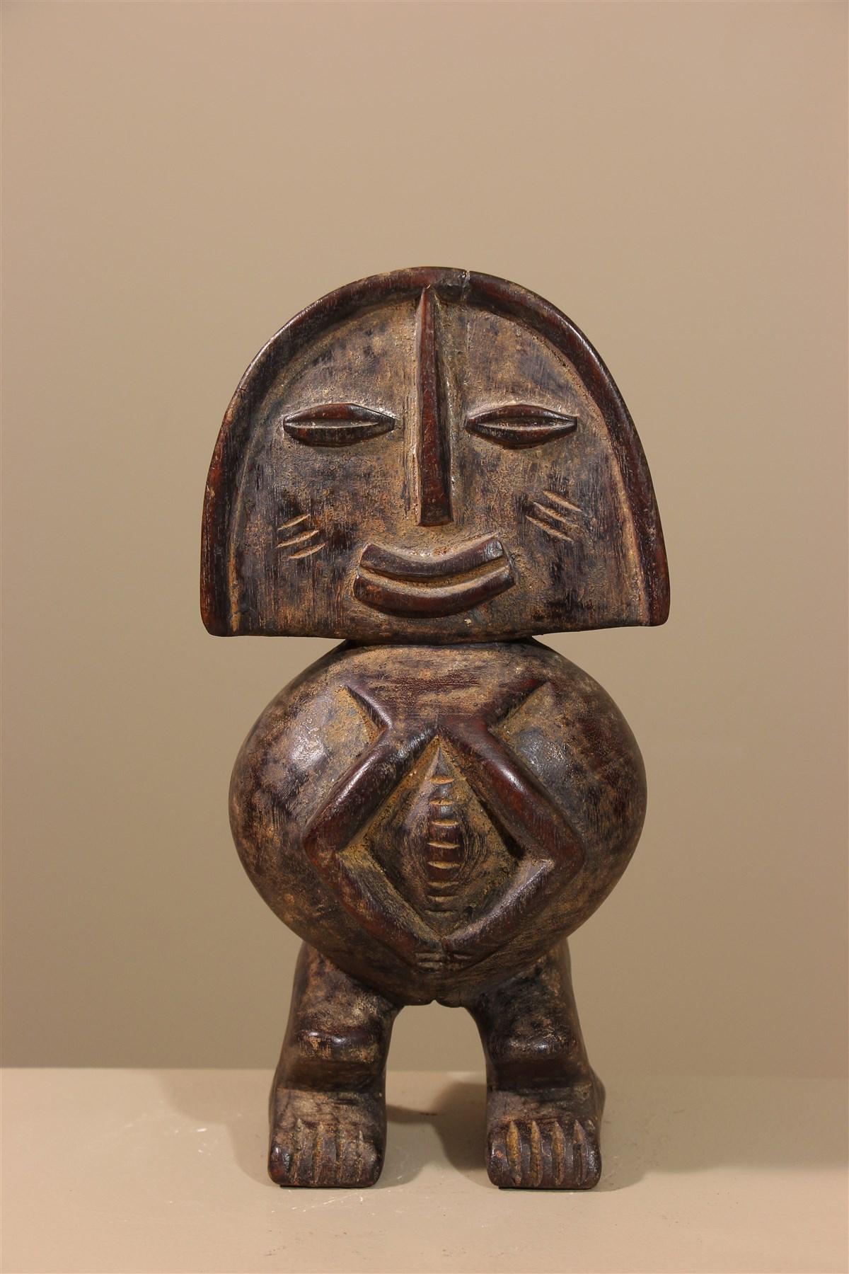 Statue de pygmée Tikar