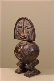 Statues africainesStatue de pygmée Tikar
