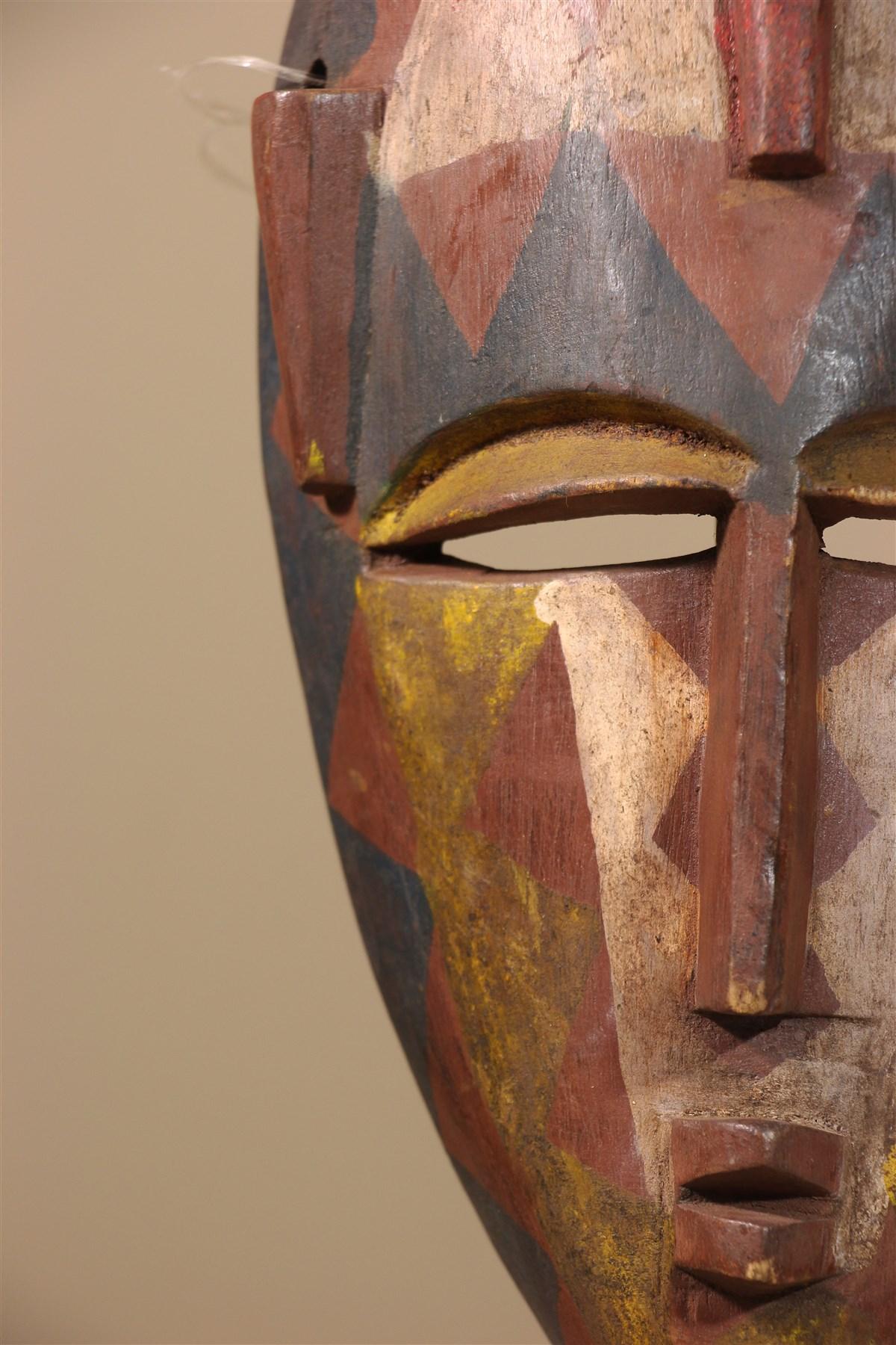 Masque africain Markha, Warka du Mali - Déco africaine - Art africain traditionnel